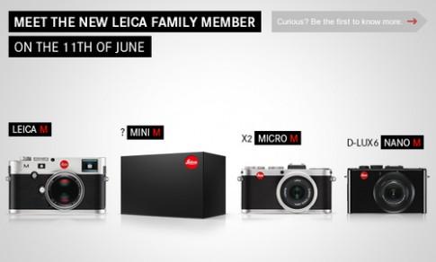 Leica Mini M - đối thủ Sony RX1 sẽ ra mắt ngày 11/6