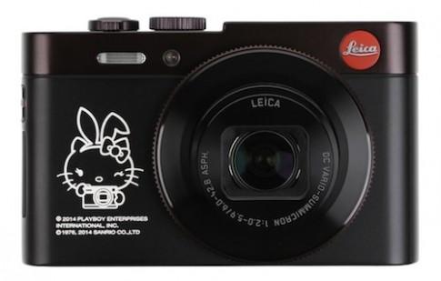 Leica ra mat may anh hop tac voi Playboy va Hello Kitty
