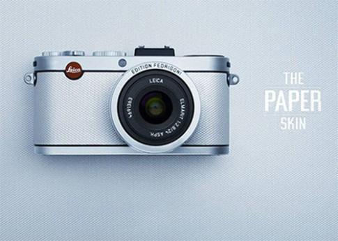 Leica X2 Fedrigoni độc đáo với vỏ dán giấy