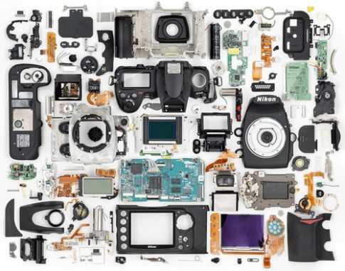 Linh kiện của máy ảnh Nikon D700
