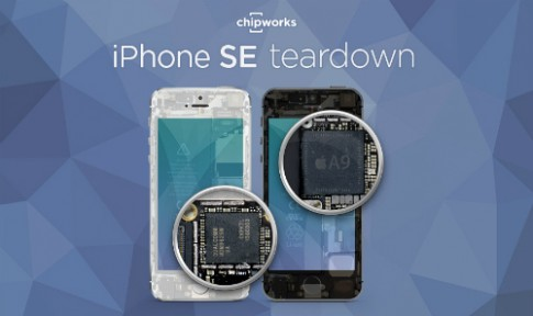 Linh kiện iPhone SE giống iPhone 6s