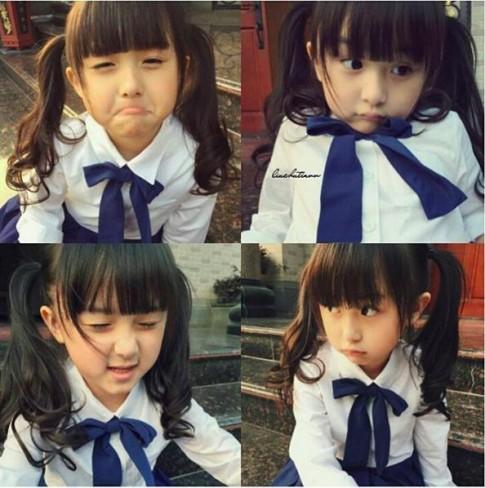 Liu Chu Tian - bé gái xinh như thiên thần với phong cách thời trang đẹp miễn chê