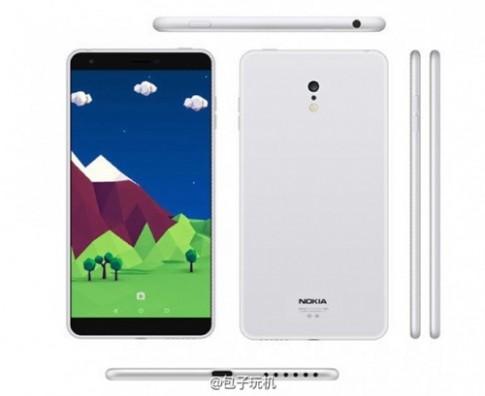 Lộ ảnh Nokia C1 chạy Android đẹp như iPhone