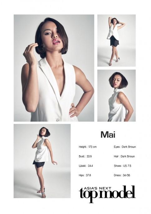 """Lộ ảnh Quỳnh Mai được """"cứu"""" trở lại Asia's Next Top Model?"""