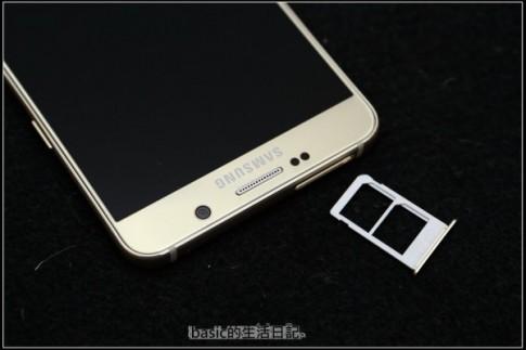 Lộ ảnh Samsung Galaxy Note 5 Dual Sim.