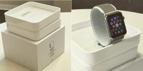 Lộ diện đóng gói của Apple Watch và các loại dây đeo
