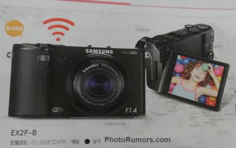 Lộ diện máy compact ống kính mở f/1.4 của Samsung