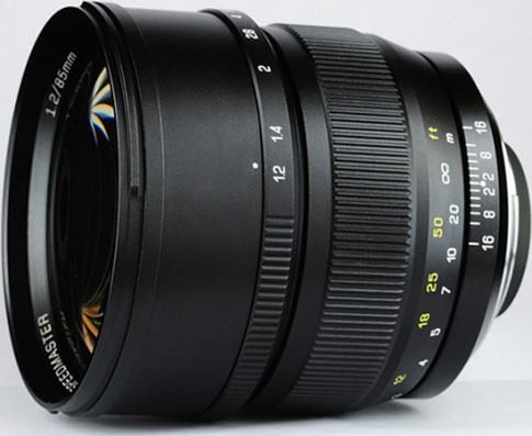 Lộ diện ống kính 85mm f/1.2 DSLR từ Mitakon