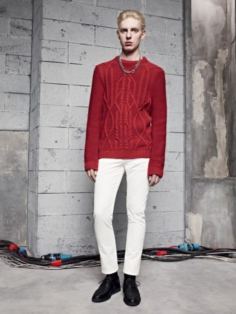 Lookbook thời trang nam thu đông 2013 của Sandro
