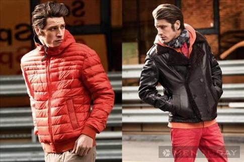 Lookbook thời trang nam thu đông 2013 từ Strellson