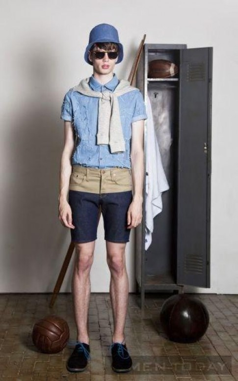 Lookbook thời trang nam Xuân/Hè 2014 của Alder New York