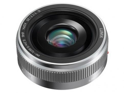 Lumix G 20mm/f1.7 II ASPH thế hệ mới có thêm màu bạc