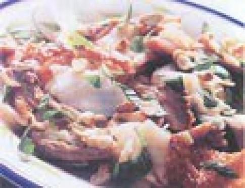 Măng chua trộn vịt quay