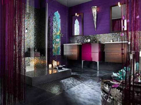 Mang xứ sở Ba Tư vào phòng tắm