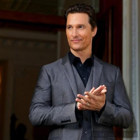 Matthew McConaughey – Quý ông lịch lãm cùng suit
