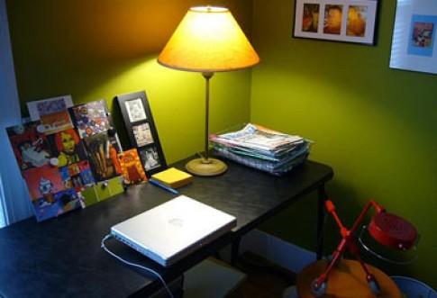Màu cho phòng làm việc tại nhà