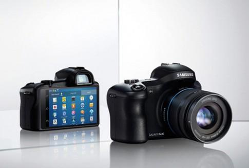 Máy ảnh chạy Android có thể gắn sim của Samsung