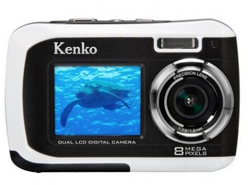 Máy ảnh chống nước 2 màn hình Kenko Tokina DSC880DW