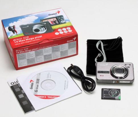 Máy ảnh compact giá rẻ Genius G-shot 508
