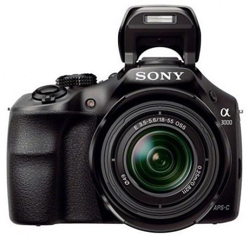 Máy ảnh 'lai' dòng Alpha và NEX của Sony lộ diện