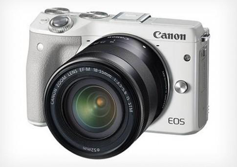 Máy ảnh mirrorless Canon EOS M3 lộ diện