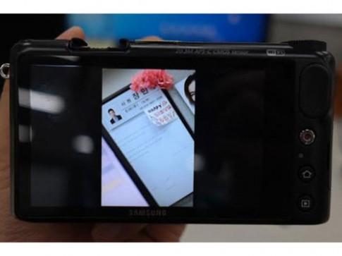 Máy ảnh mirrorless chạy Android của Samsung lộ diện