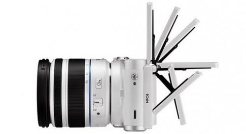 Máy ảnh Samsung NX-300M có thể chạy Tizen OS
