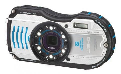 Máy ảnh siêu bền Pentax WG-3 có thêm phiên bản màu trắng