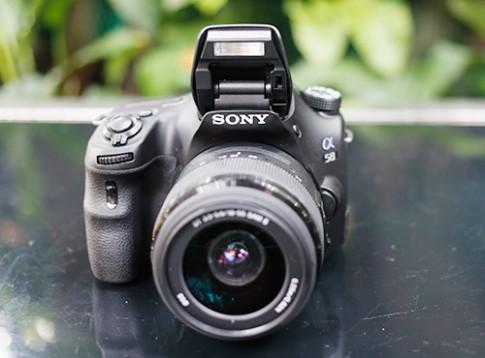 Máy ảnh Sony Alpha A58 bán ra tại Việt Nam