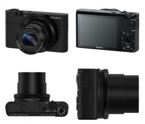 Máy compact cảm biến CMOS 1 inch của Sony xuất hiện