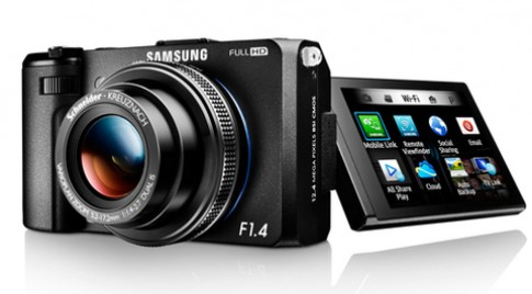 Máy compact ống kính mở f/1.4 của Samsung