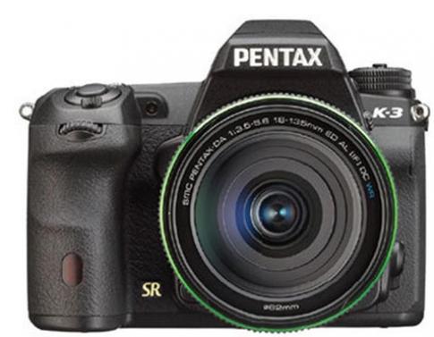 Máy DSLR cảm biến APS-C cao cấp của Pentax lộ diện
