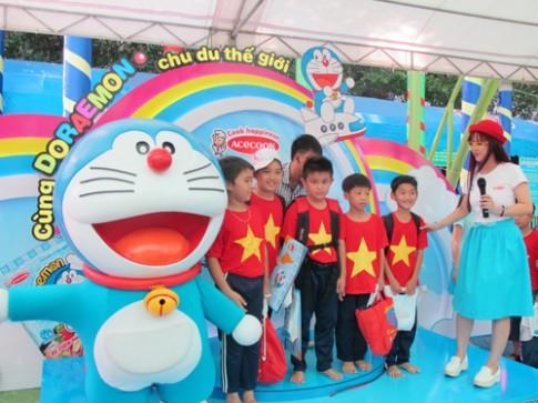 Mèo máy Doraemon tới TP HCM