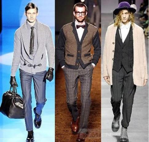 Mix đồ: Trẻ trung và nam tính với áo khoác len nam