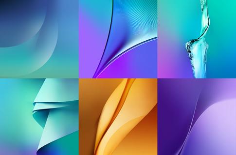 Mời tải về trọn bộ hình nền của Samsung Galaxy Note 5
