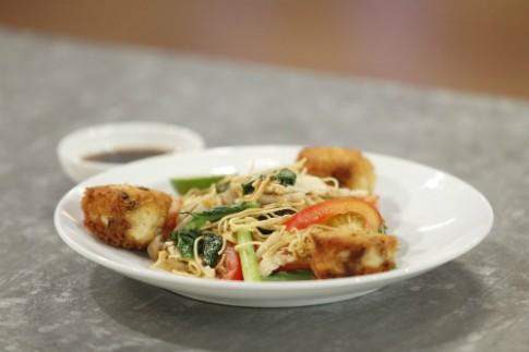 Món ăn chế biến từ gà trong tập ba Vua đầu bếp
