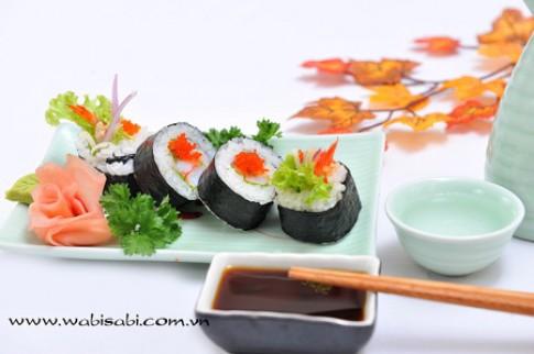 Món ngon chế biến với rong biển
