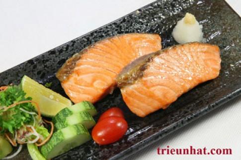 Món nướng kiểu Nhật tại Asahi