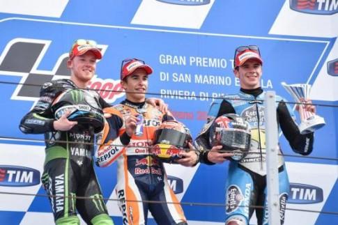 Moto GP: chỉ một sai sót nhỏ cũng có thể khiến các tay đua trả giá bằng cả mùa giải