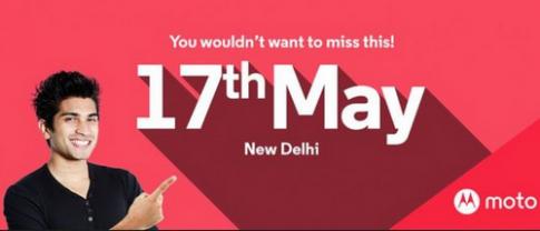 Motorola gửi thư mời ra mắt Moto G4 và Moto G4 Plus ngày 17/5