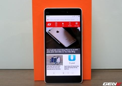 Mục sở thị chiếc Xiaomi Mi 4c cập bến đầu tiên tại Việt Nam