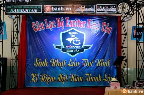 Mung sinh nhat lan thu 1 CLB Exciter Binh Tan