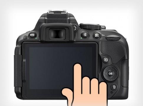 Năm sau, máy ảnh Nikon DSLR sẽ có màn hình cảm ứng