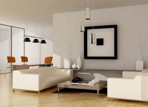 Nghệ thuật tạo phòng khách sang trọng và bí ẩn