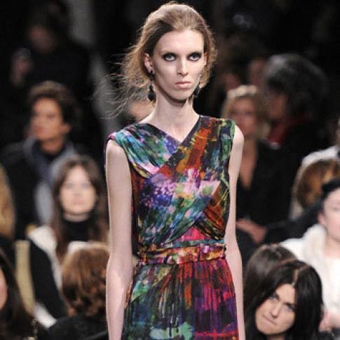 Người mẫu 'ép' cân vào mùa catwalk
