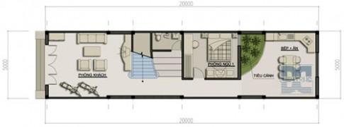 Nhà 2 tầng trên đất 100 m2