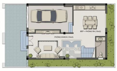 Nhà 70 m2 cho gia đình 8 người