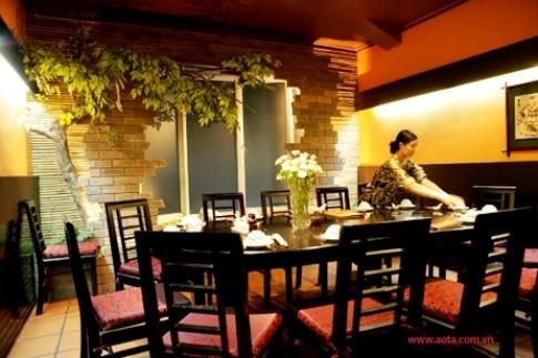 Nhà hàng Ao Ta Huỳnh Thúc Kháng mở rộng