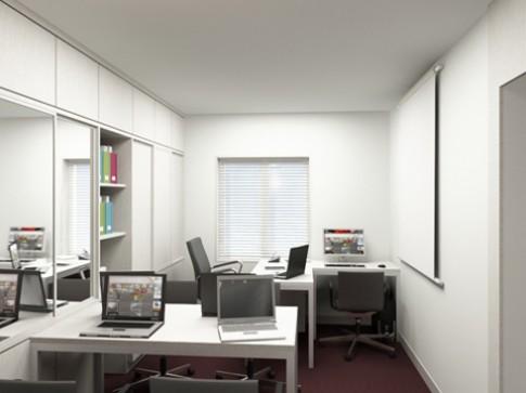Nhà ở kết hợp văn phòng diện tích hẹp