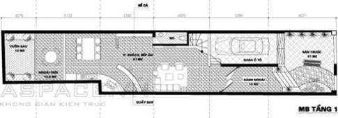 Nhà trên đất 6 x 30 m hợp phong thủy tuổi 1973